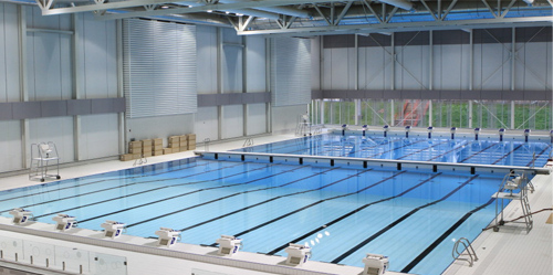 Camps d 39 t qu bec excellence synchro for Piscine universite laval